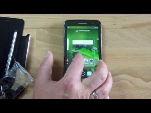 Alcatel One Touch Scribe HD Unboxing und erste Eindrücke - www.technoviel.de