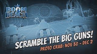 Boom Beach: Can You Erase The Protocrab?