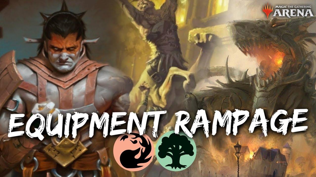Equipment Rampage [MTG Arena] | Valduk & the Centaurs Deck in RNA Standard