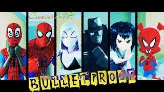 🕷Spider-Man: Into the Spider-Verse🔫Я Пулебронь!—BTS We Are Bulletproof Pt2(위 아 불렛프루프 Pt2)FULL AMV♫