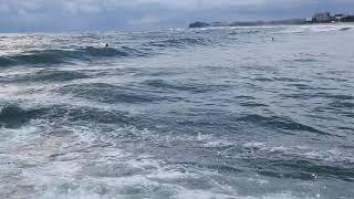 낙산사 앞 바다.. 강한파도에 좋아서 발길멈추다.