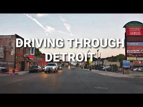 DETROIT - CITY TOUR & OVERVIEW VIDEO