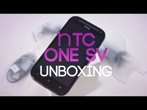 HTC One SV Unboxing