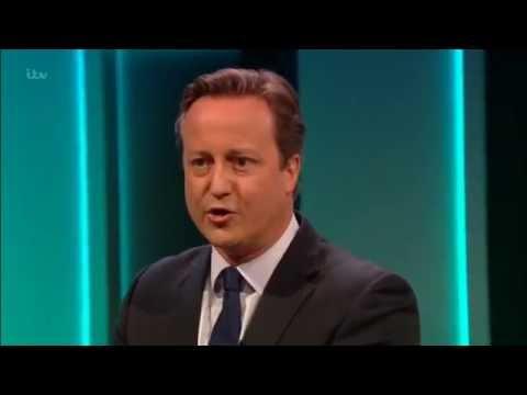 David Cameron questioned on the ITV EU referendum 'debate'