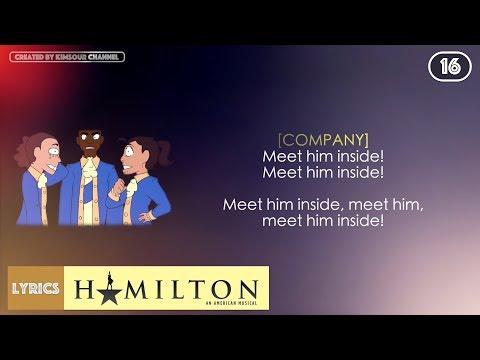#16 Hamilton - Meet Me Inside (VIDEO LYRICS)