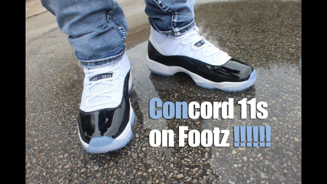buy popular 92753 f2916 Jordan 11 Concord on feet!
