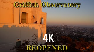 [4K] Griffith Observatory Reop…