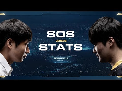 sOs vs Stats PvP - Semifinals - 2018 WCS Global Finals - StarCraft II