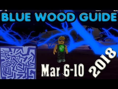 Lumber Tycoon 2 Blue Wood Maze Map Guide 2018 March 6 Youtube