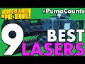 Top 9 Best Laser Weapons in Borderlands: The Pre-Sequel! #PumaCounts