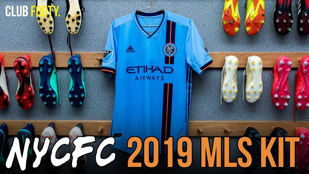 new style 533e1 e4b44 NEW YORK CITY FC 2019 HOME KIT | MLS REVIEW