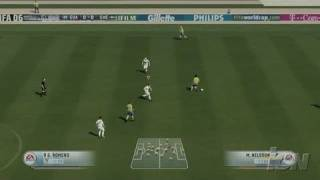 FIFA 06: Road to FIFA World Cup Xbox 360 Gameplay -