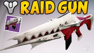 Destiny: ANGUISH OF DRYSTAN GAMEPLAY! Kings Fall Raid Auto Rifle Review (Kings Fall Raid Loot)