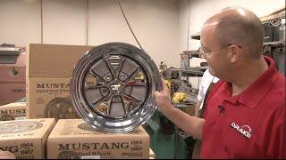 Mustang Scott Drake Styled Steel Wheel 1965-1967