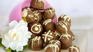 Easy Recipes, Cookies & Cream Truffles, 4 Ingredients, Chocolate Recipes, Kim Mccosker