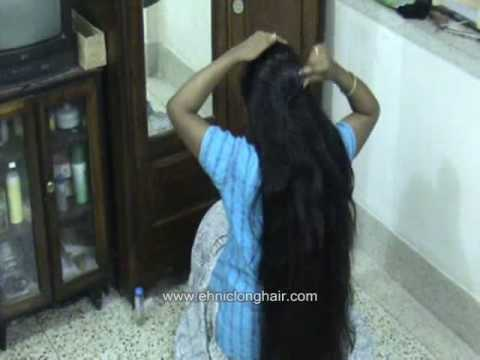 Long hair styles by Indian Women - Part I