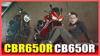 PKL - Đánh giá Honda CBR650R và CB650R (Honda CBR650R and CB650R review)