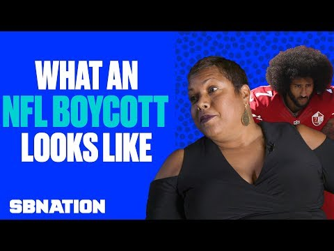 Behind the scenes of an NFL boycott in Brooklyn
