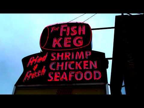 Fish Keg Neon Sign, Chicago Il.