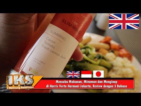 Mencoba Makanan, Minuman dan Menginap di Harris Vertu Harmoni Jakarta, Review dengan 3 Bahasa