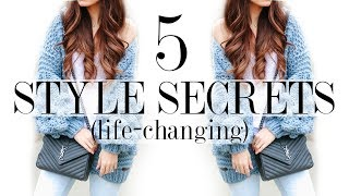 5 Style SECRETS No One Talks About! *life-changing*