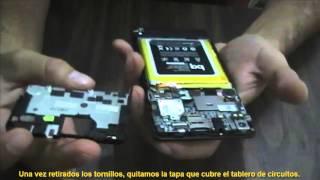 Como abrir celular bq Aquaris E5 / bq Aquaris E5 DISASSEMBLY