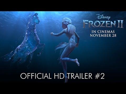 Disney's FROZEN 2   Official HD Trailer #2   In Cinemas November 28, 2019