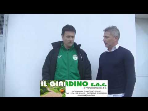 Interviste post partita San Miniato Basso - Atletico Cenaia