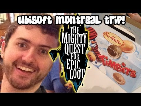 Ubisoft Montreal Trip! (Story Time ft. The Mighty Quest For Epic Loot)
