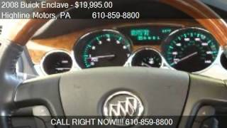 2008 Buick Enclave FWD CXL - for sale in ASTON, PA 19014