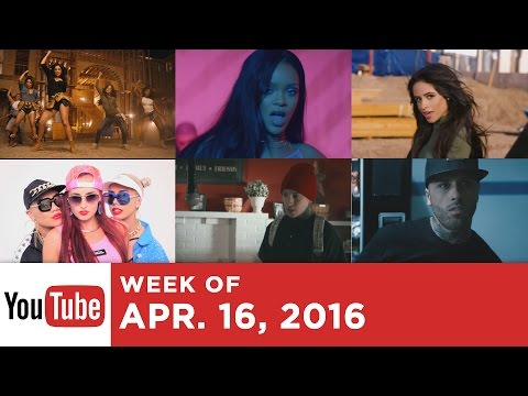 Top 10 Most Popular Songs - Week Of April 16, 2016 (YouTube)