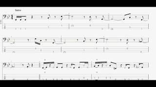 いしだあゆみ&ティン・パン・アレーの「私自身」ベースtab譜です 参考音源https://youtu.be/syXTU7YkuM4 #私自身#いしだあゆみティンパンアレー#ベースta...