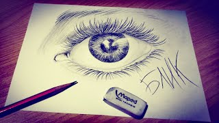 Как нарисовать глаза поэтапно карандашом | Видео уроки рисования для начинающих. Обучение рисованию