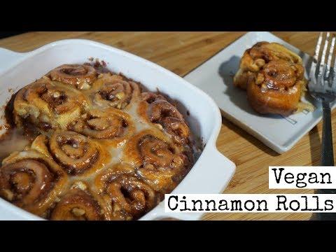 How to Make Vegan Cinnamon Rolls | Easy