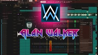 Fl Studio - Alan Walker Style Track Tutorial - Part 1 (Sing me to sleep/Routine/Alone/Faded)