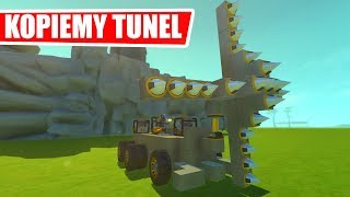 SCRAP MECHANIC - MASZYNA DO KOPANIA TUNELI!!