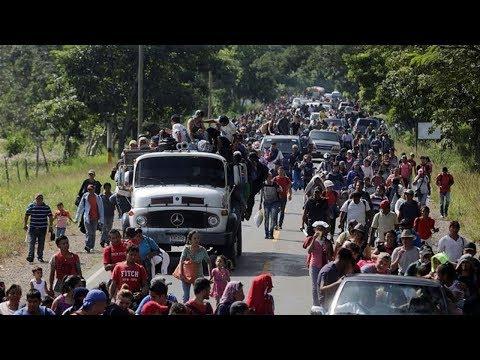 Trump Threatens to Send Military to Stop Massive Migrant Caravan!!!