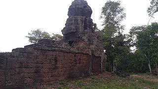 ប្រាសាទព្រហ្មកិល-Prom Kel temple -Cambodia temple-khmer temple