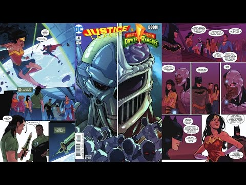 Justice League/Power Rangers DC Comics #4