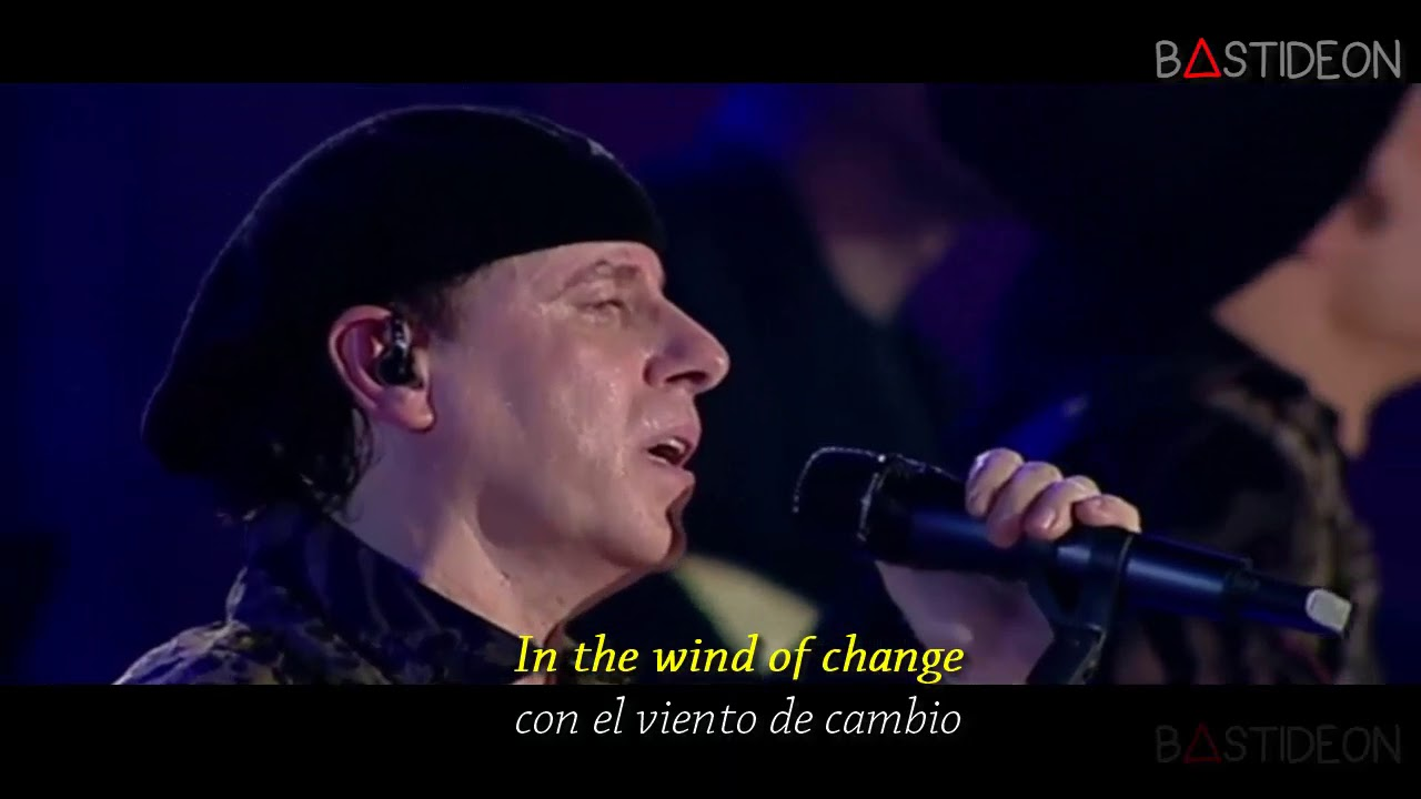 Scorpions Wind Of Change Sub Español Lyrics Youtube