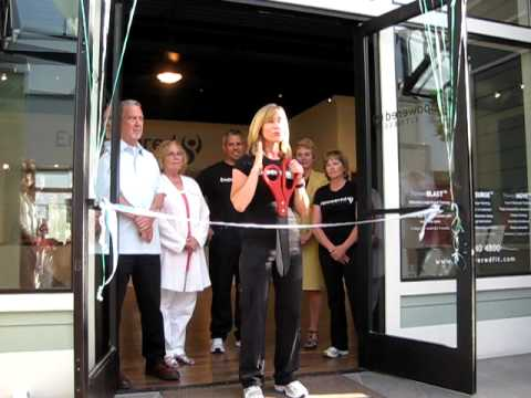 Empowered Fitness Ribbon Cutting Speech - YouTube