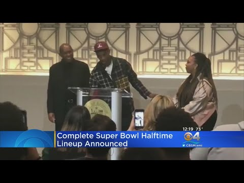 Super Bowl LIII Halftime Show Finalized