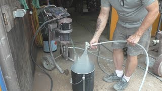 Painting the Boat - Part 9 - Industrial Pneumatic Airless Sprayers