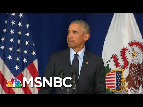 Former President Barack Obama Brings Civil Discourse Back To Campaign Trail | Morning Joe | MSNBC