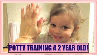 DAY IN THE LIFE OF POTTY TRANING A 2 YEAR OLD! | VLOGMAS DAY 24