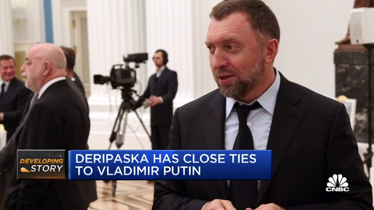 Oleg Deripaska: FBI at Washington home of Russian oligarch ...