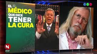 MÉDICO francés ASEGURA tener la CURA CONTRA el CORONAVIRUS - Telefe Noticias