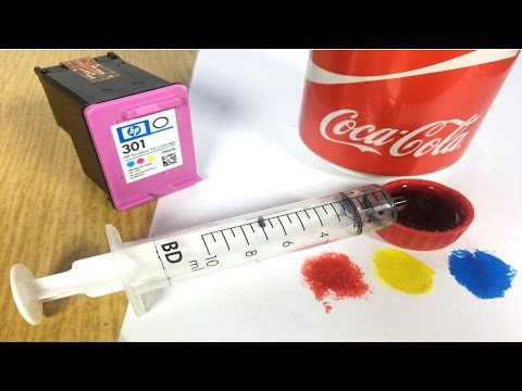 Free Ink for your Printer - Amazing Life Hack