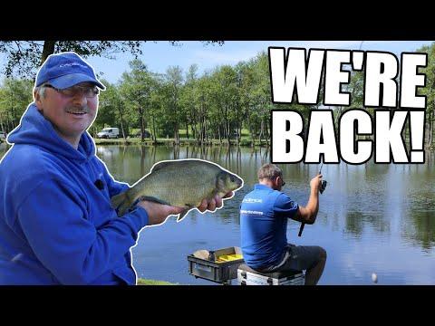 We're Back! First Post Lockdown Fishing - Wyreside Fishery