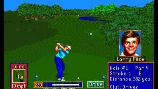 PGA Tour Golf II (SEGA Genesis / MegaDrive)